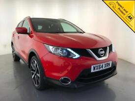 2014 NISSAN QASHQAI TEKNA DCI DIESEL PANORAMIC ROOF 1 OWNER SERVICE HISTORY