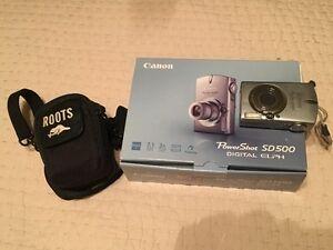 Canon Powershot SD 500