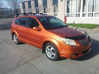 Pontiac Vibe 2005 Familiale Hatchback Orange