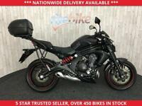 KAWASAKI ER-6N ER6N ER 6N EFF MODEL NAKED SPORTS ONE OWNER 2015