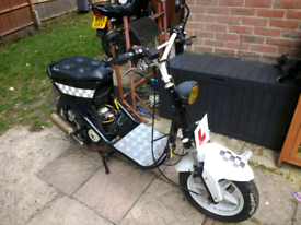 Spares/repair bike or information wanted!! 125 scooter moped custom