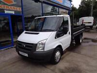2012 FORD TRANSIT 100 T350M RWD TIPPER - FSH - 1 OWNER - ONLY 55000 MILES TIPPER
