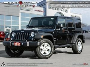 2016 Jeep Wrangler Unlimited Sport  - Cruise Control