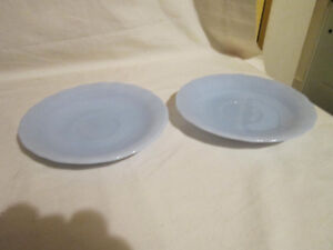 2 Delphite PYREX Saucers - Made in Canada