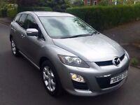 2010 Mazda CX-7 2.2D SPORT TECH (ADBLUE)(17K MILES) (FULL MOT)TOP SPEC,XENONS,FULL LEATHER,SAT NAV.