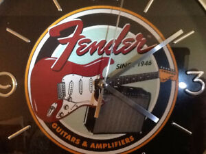 Guitar Wall Clock - NEW!