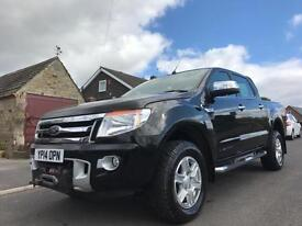 2014 FORD RANGER 3.2 TDCI EU5 LIMITED 4WD DOUBLE CAB