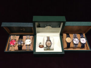 ROLEX PRESIDENTIAL , OYSTER , DATEJUST .TURN-O-GRAPH ETC..