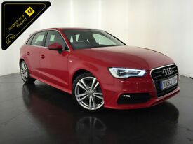 2013 63 AUDI A3 S LINE TDI DIESEL 148 BHP SERVICE HISTORY FINANCE PX WELCOME