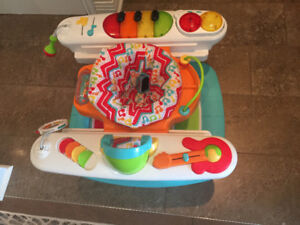 Fisher Price 4-In-1 Step 'N Play Piano Multi