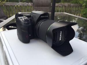 Pentax K-30, 18-135mm lens, like new!