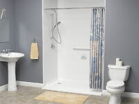 showers, accessible, barrier free