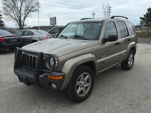 2004 Jeep Liberty Rocky Mountain Ed. SUV 88 K's Certified! 4x4