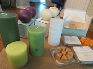 Partylite wax - votives, pillars, balls and aroma melts