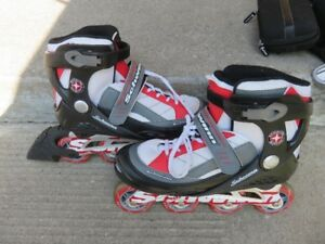 Inline Roller Blades - Size 8 senior - Like new condition