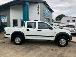 2003 Holden Rodeo TFR9 MY02 LT White 5 Speed Manual Crew Cab Pickup
