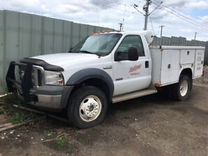 2005 Ford F550 Super Duty service Truck