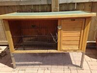 Rabbit or small animal hutch in good condition