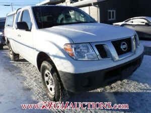 2013 NISSAN FRONTIER S KING CAB 4X2 AT S