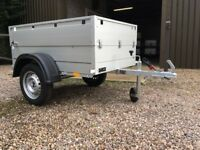 Camping trailers - Anssems Aluminium lockable Leisure trailer.