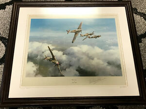 ROBERT TAYLOR WW2 Framed Print Collection
