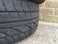 4x 185/55/15 tyres (corsa,Clio,vw,rover)