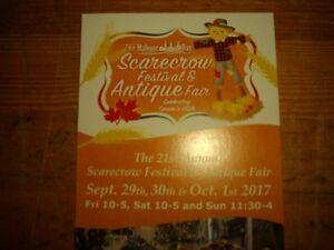 MAHONE BAY SCARECROW FESTIVAL AND ANTIQUE FAIR