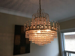 Three Matching Chandeliers For Sale