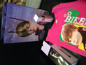 Justin BELIEVER fans  -- Perfume , shirt & bag