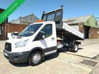 2014 64 FORD TRANSIT DROPSIDE TIPPER 6 SPEED 125 TDCI WITH FORD 1 STOP ALLOY BOS