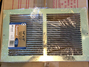 14 X 8 Brass Sidewall Grille - New Still in Packaging Gatineau Ottawa / Gatineau Area image 1