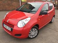 Suzuki Alto 1.0 SZ3 5 door Manual Petrol Red 29k Miles FREE ROAD TAX