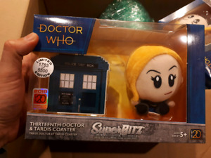 Limited edition Doctor who 13th doctor superbitz plush