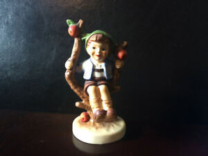 "Goebel Hummel Figurine ""Apple Tree Boy"" 4.5 inches tall"