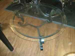 Ashley 2 piece glass coffee  table set