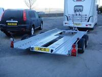 BRAND NEW UN-USED 2017 IFOR WILLIAMS CT136HD CAR TRANSPORTER TRAILER