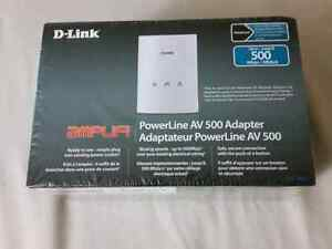 D-LINK PowerLine AV 500 Adapter - $25