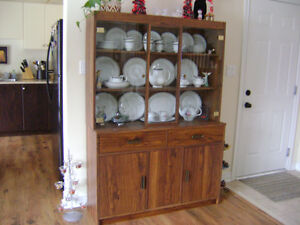 2 PIECE BUFFET AND HUTCH
