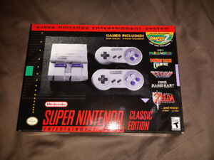 Nintendo SNES Classic Mint Condition Never Played!