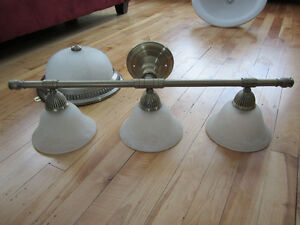 Set of Bathroom light fixtures