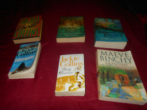 maeve binchy and jackie collins