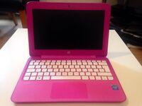 Excellent condition HP mini pink laptop!