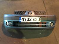 Renault Clio mk2 from bumper 2000-2007