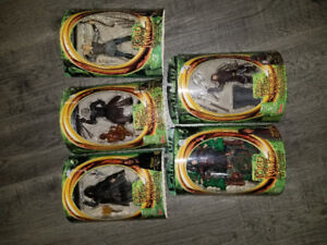Lord of the rings action figures (set of 5)