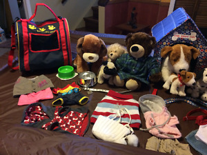 Build a Bear puppies and accessories