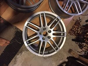 Set of 4 Audi Rs4 18' project wheels