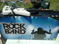 ROCKBAND DRUMS AND GUITAR (XBOX 360)