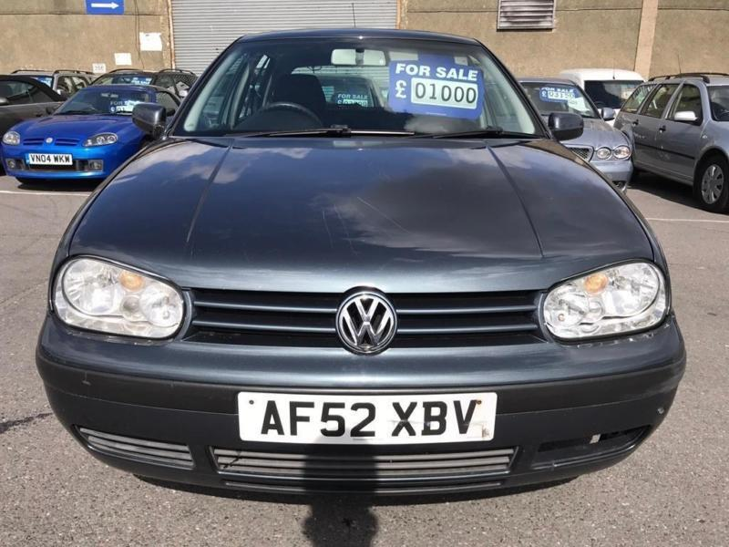 2002 Volkswagen Golf 1.6 S 5dr