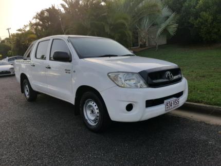 2009 TOYOTA HILUX SR UPGRADE DUAL CAB P/UP AUTO Upper Mount Gravatt Brisbane South East Preview