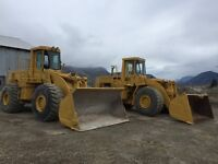 CAT 980C (2) WHEEL LOADERS FOR SALE